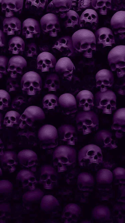 Wallpaper skulls