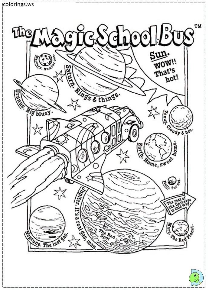 - Magic School Bus 02, Magic School Bus Coloring Pages, Free Printable Magic  School Bus 02 Magic School Bus, Magic School, School Bus Crafts