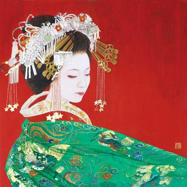 Kurokawa Masako (1949-) 黒川雅子 Tayuu Aoi 葵太夫、2014