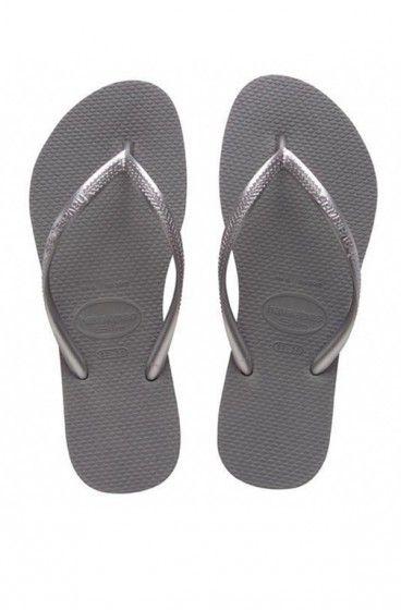 Tongs Havaianas Slim silver - Mlle Bikini
