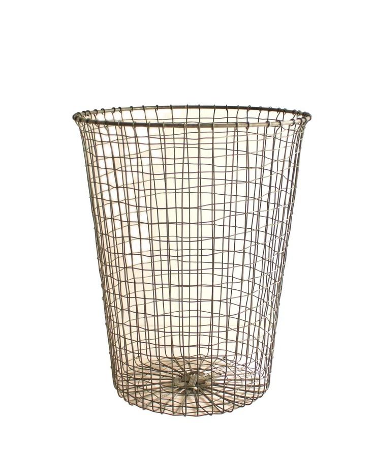 Industrial Wire Wastebasket