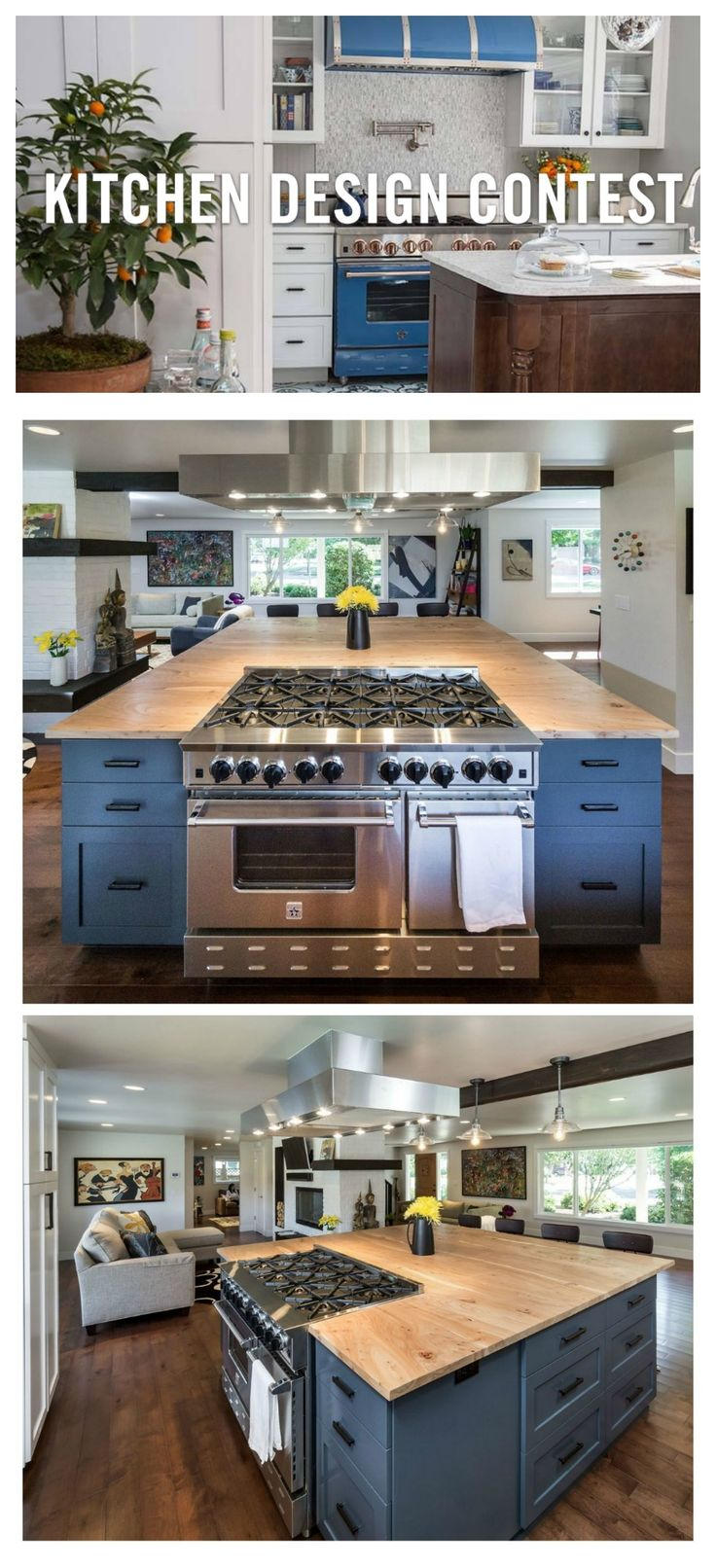BlueStar® is back with our 2nd Annual Kitchen Design Contest! We are looking for professional kitchen designers, architects, interior designers, builders and remodelers to send us their incredible work. Will you win in 2016? Submit your beautiful kitchens* for the chance to win the title of BlueStar® Kitchen Designer of the Year.