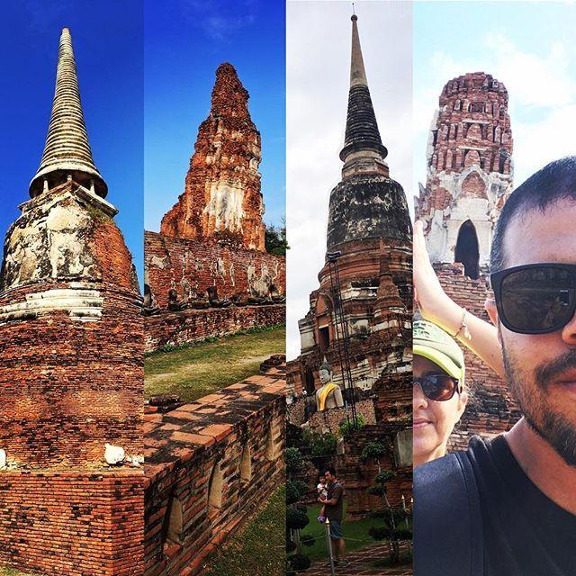 """Ayutthaya """"Una isla de palacios y pagodas, canales y vías de agua. La Venecia de Asia!"""" Una ciudad construida entre los siglos 14 al 18 que hoy se puede reconstruir en la imaginación mienteas se recorre.  www.vivirtrabajarviajar.com #asia #thailandia #thailand #viajar #vivirtrabajarviajar #travelphotography #travel #traveller #lonelyplanet"""