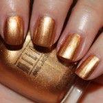 MILANI NAIL LACQUER #12A SIGNATURE GOLD Warm Spring Nail Polish