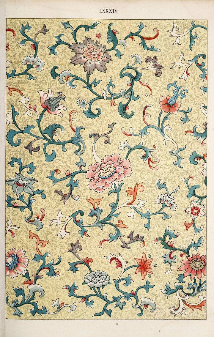 Chinese fabric patterns - photo#44