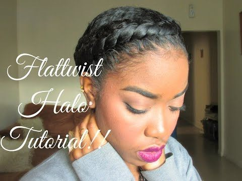 http://www.shorthaircutsforblackwomen.com/short-hairstyles-for-black-women/ Natural Hair - Protective Styling Halo Tutorial!! - YouTube