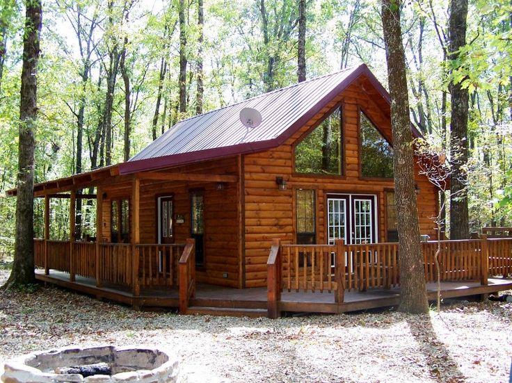 Oak Ridge Cabin - The Oakridge Cabin was designed for an unforgettable romantic getaway. This Honeymoon cabin has an open ...