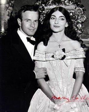 Franco Zeffirelli and Maria Callas in Dallas 1958. Franco Zeffirelli is an Italian director and producer of films and television. He is also a director and designer of operas and a former senator for the Italian centre-right Forza Italia party.