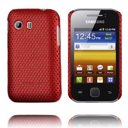 Atomic (Punainen) Samsung Galaxy Y Suojakuori