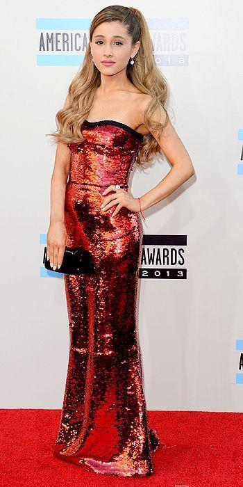 Ariana Grande at the AMAs 2013