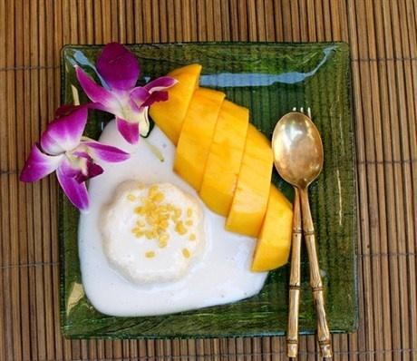 Бананово-кокосовый пудинг с тапиокой (che chuoi)