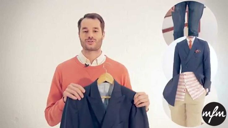 Check out this cool video on how to wear the double breasted blazer, by @Luca Fashion Magazine >> How to wear the double breasted blazer --> http://www.youtube.com/watch?v=_c_mQN6Onv4