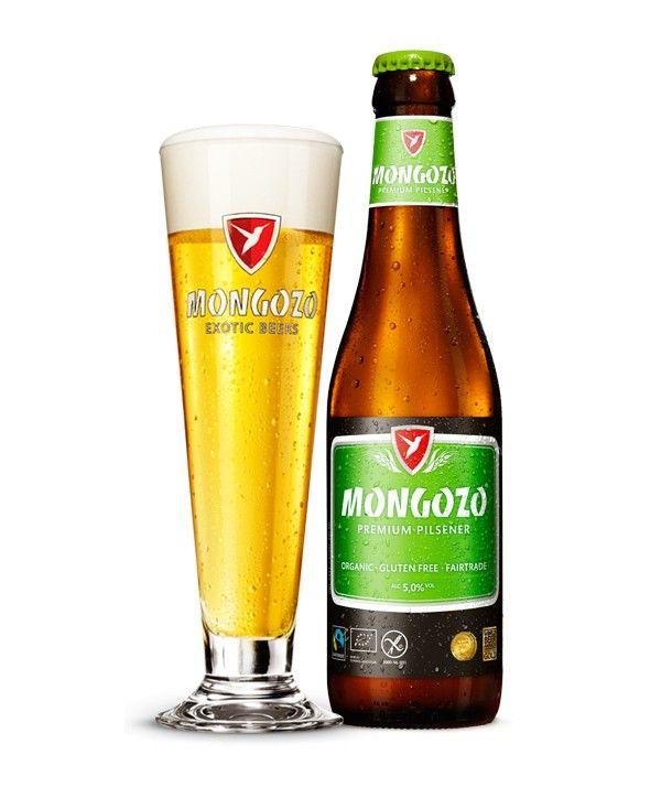 Mongozo Premium Pilsener Gluten-Free Beer, now available!