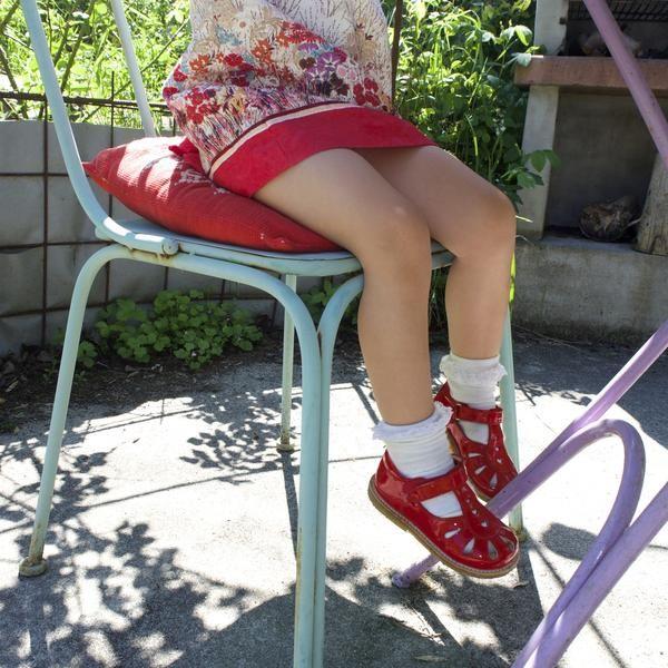 Angulus røde hjerter sandal – Hola Lola #childrensshoes #kids #shoes #holalola_no
