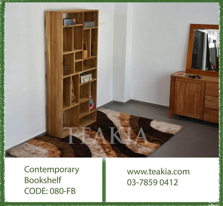 https://flic.kr/p/21pcX1o | 23550901_1696013120411581_4433325844500750916_o | Contemporary teak book shelf