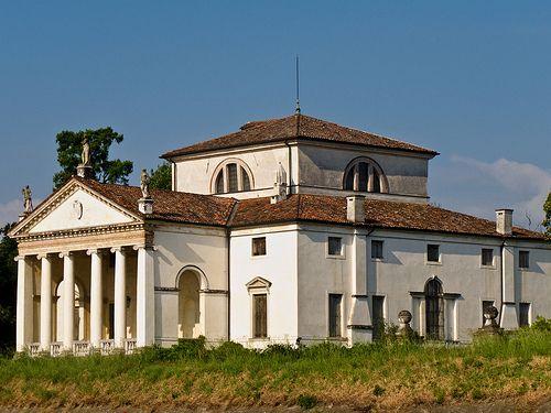 Villa Molin, Mandria, Ponte della Gagna. Vincenzo Scamozzi, 1597. On edge of canal.