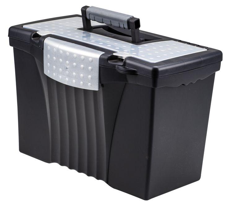 Legal/Letter Portable File Box
