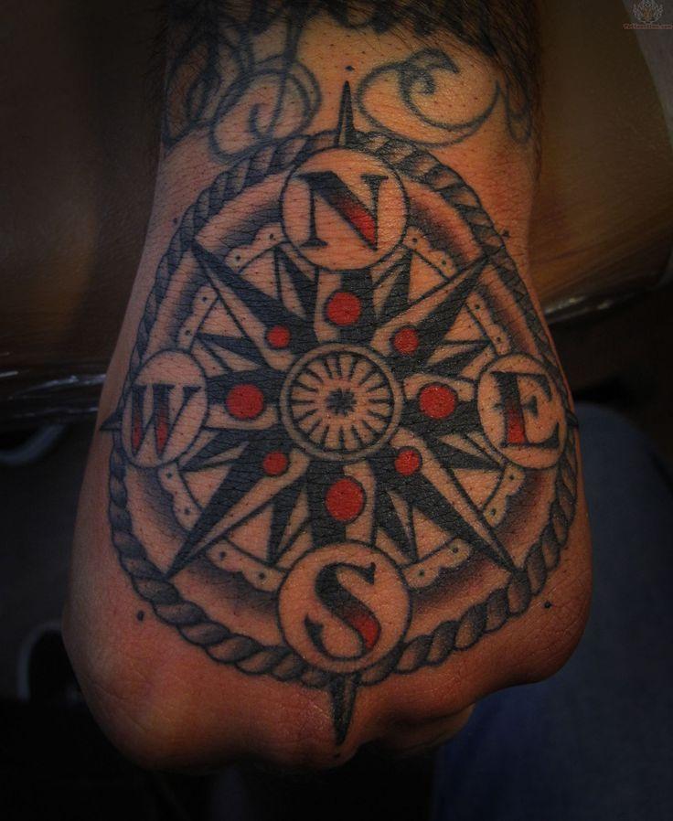 Traditional pirate tattoo