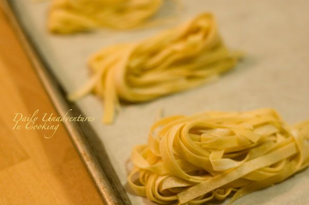 How to Freeze Homemade Pasta (I only take the time to make fresh pasta a couple times a year, good to know I can freeze and use later)
