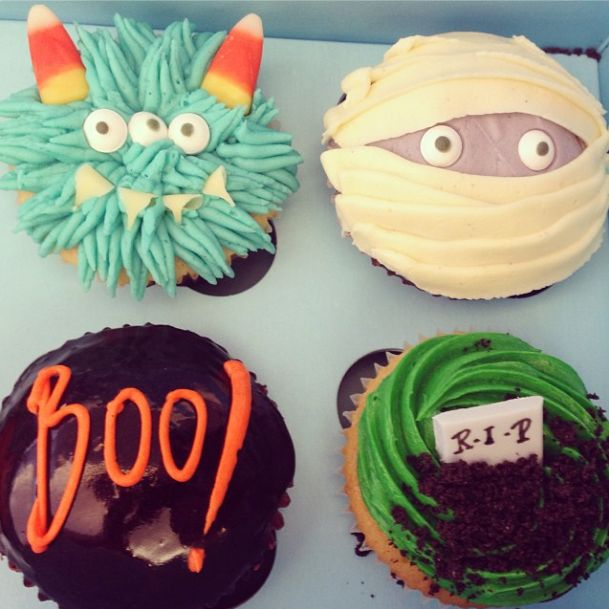 ideas for halloween cupcake decoration