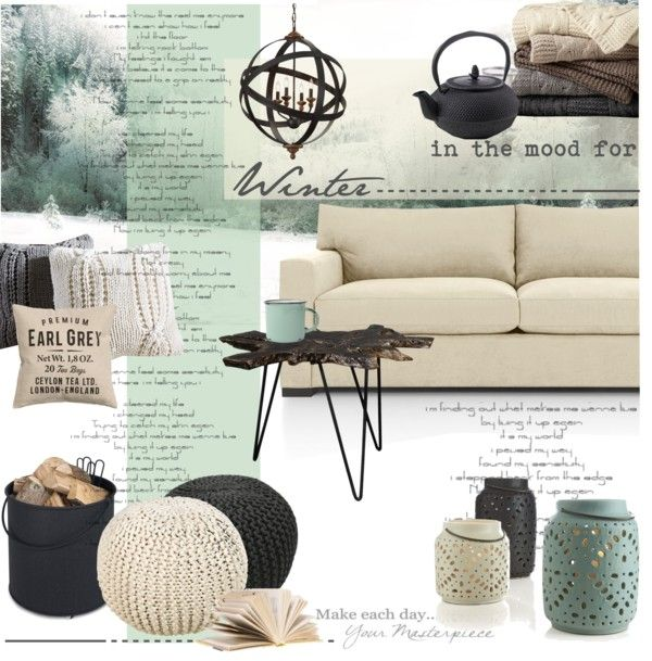 in the mood for winter by nyrvelli on polyvore top interior design looks pinterest happy