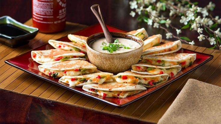 The contrast of Asian flavors and textures with our melting Chihuahua® cheese makes a heavenly bite of perfection, another tasty option for quesadillas. Enjoy! http://www.vvsupremo.com/recipe/asian-vegetarian-quesadillas #Asianflavors #Tasty #Vegetarian #Quesadillas #Cheese #Recipes #Meatlessquesadillas #Veggies #Easycheesyquesadillas #Foodies