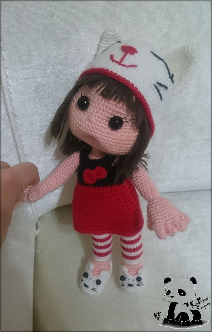 Amigurumi Doll Boy : 1000+ images about Renkli Kalpler on Pinterest Amigurumi ...