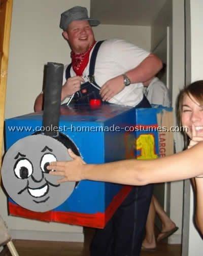 The 25 best train costume ideas on pinterest thomas costume coolest homemade thomas the train halloween costume ideas solutioingenieria Choice Image