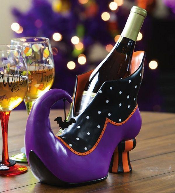 Witch's Shoe Wine Bottle Holder