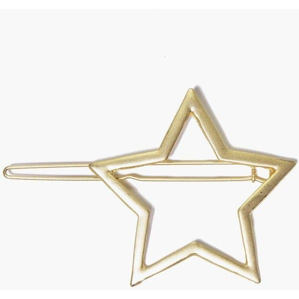 Boohoo Rosie Star Hair Pin (225 RUB) ❤ liked on Polyvore featuring accessories, hair accessories, gold, scrunchie hair accessories, hippie hair accessories, party crowns, floral crowns and floral hair pins