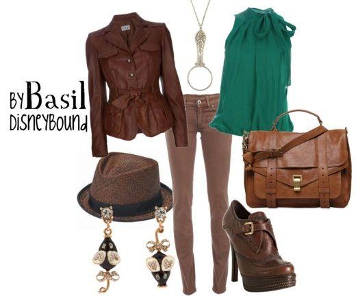 DisneyBound: Basil of Baker Street