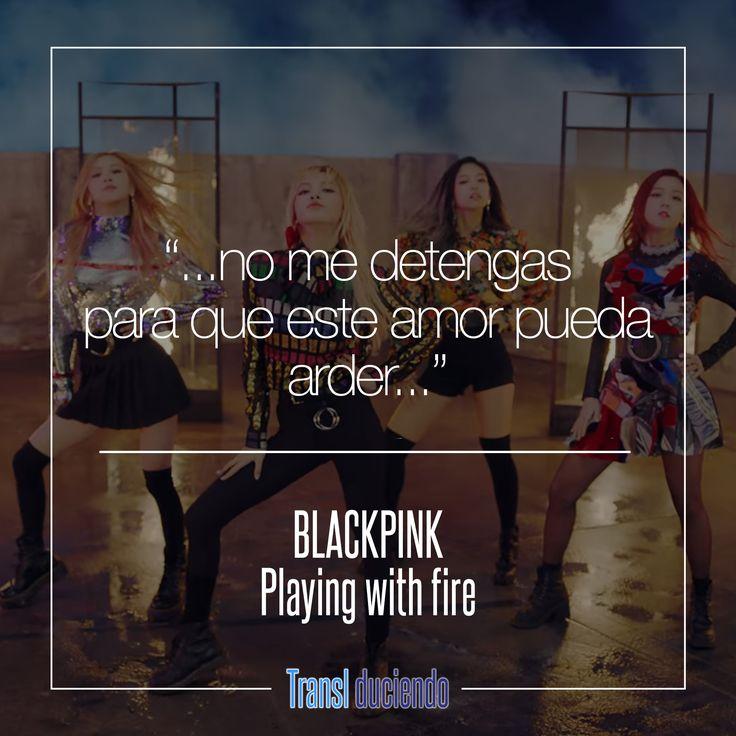 Canción traducida: #BLACKPINK - #PlayingWithFire | #KPop #SquareTwo Encuentra la letra completa en http://buff.ly/2gugqSf