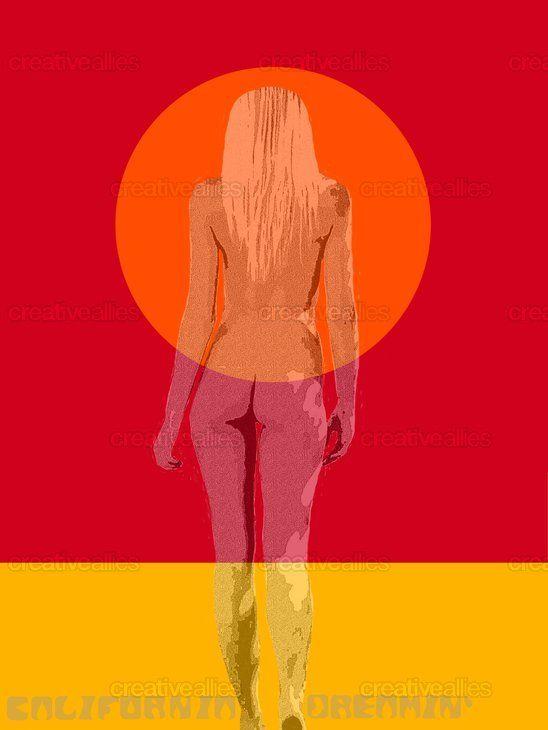 California Dreamin' Poster by alishka likes on CreativeAllies.com
