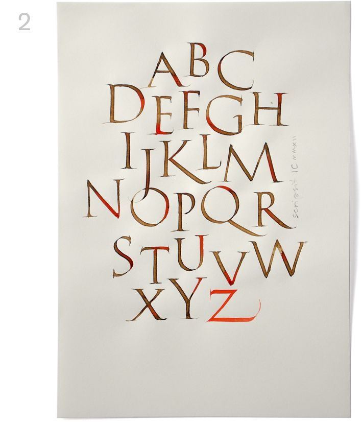 19 Best Images About Calligraphy On Pinterest Open Book