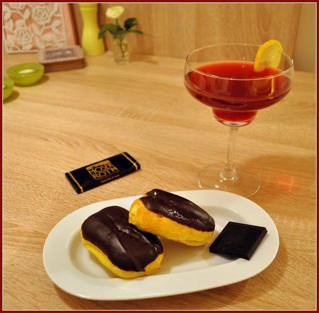 We love our kitchen: Eclairs Ahoj! Eclairs je francúzske sladké pečivo ...