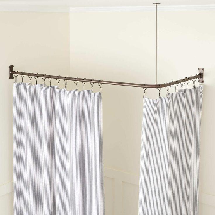 Besten Duschvorhang Schiene Duschvorhang Montieren Ring Dusche