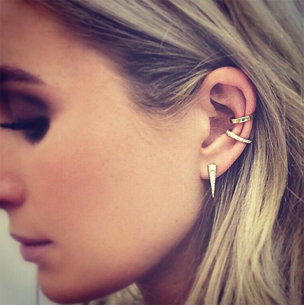 Favorite Jewelry Trend (ear cuffs… these ones are by Anita Ko)