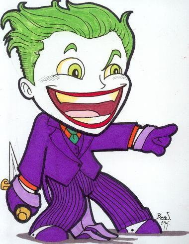 Chibi-Joker 3. by hedbonstudios.deviantart.com on @deviantART