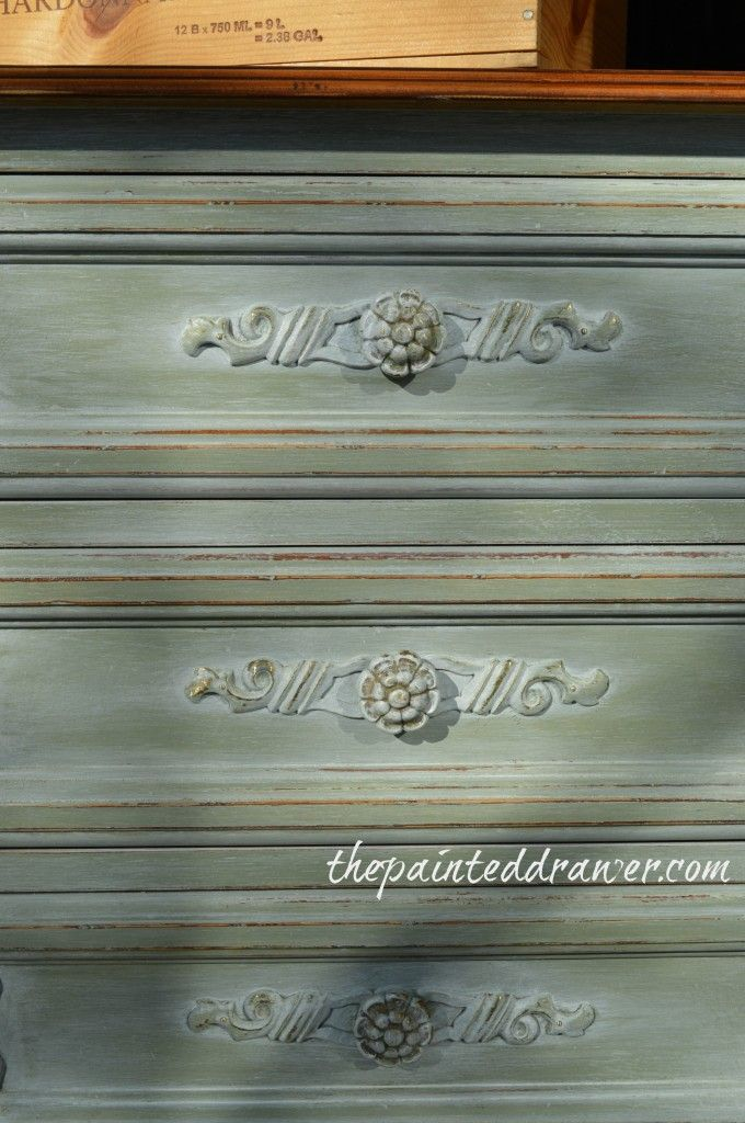 Layering With Milk Paint U2013 A French Dresser