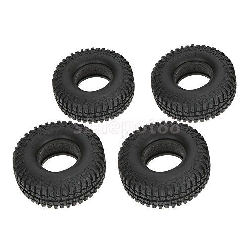 4Pcs RC 1:10 Tire Tyre 1.9'' for Model Car Climbing Rock Crawler Foam Rubber. #Tire #Tyre #Model #Climbing #Rock #Crawler #Foam #Rubber