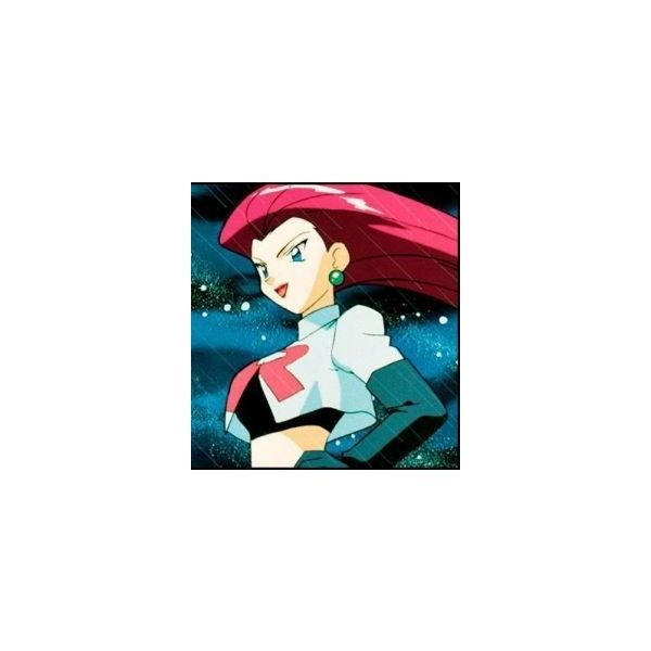 History of Jessie from Team Rocket in Pokemon ❤ liked on Polyvore featuring pokemon