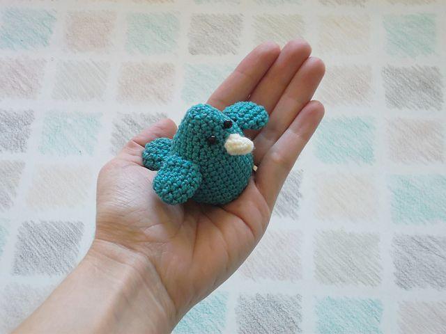 Amigurumi Bird Tutorial : Best crochet birds owls images crochet free