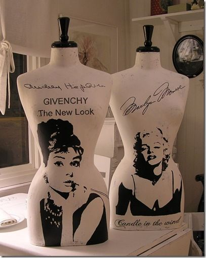 MANIQUIS / couture / sewing / sew / marilyn / audrey / I want it!