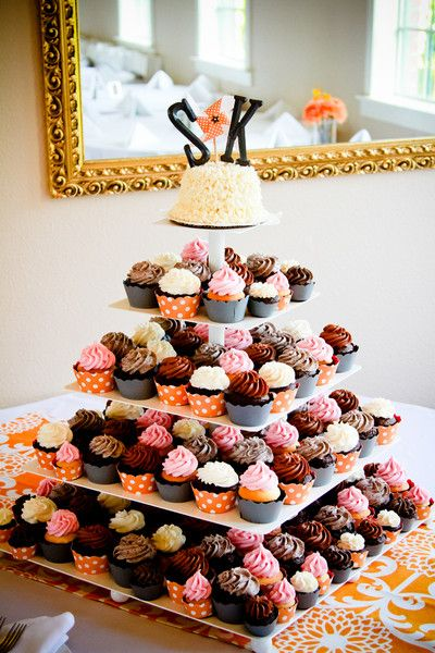 Cupcakes Ideas We Love, Wedding Cakes Photos by Heather Lynn Photographie - Image 7 of 53 - WeddingWire