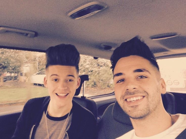 X Factor Boys: Charlie (Only The Young) and Ben