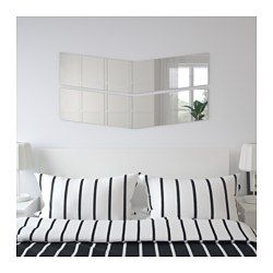 IKEA - SKÅBU, Mirror, , Go horizontal or vertical – it's easy to create your own patterns and combinations by using several mirrors together.Full-length mirror.Provided with safety film - reduces damage if glass is broken.Suitable for use in most rooms, and tested and approved for bathroom use.