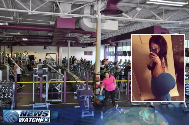 Woman's Butt Explodes While Doing Squats At The Gym - http://urbangyal.com/womans-butt-explodes-while-doing-squats-at-the-gym/