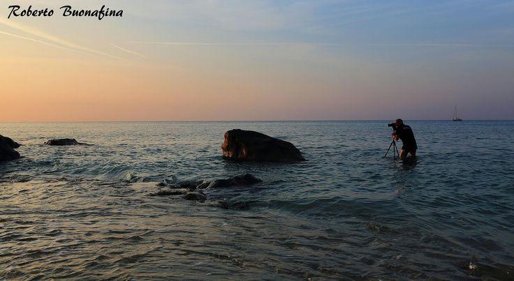 in acqua  sulle ciappe di Varigotti... al click Roberto Buonafina