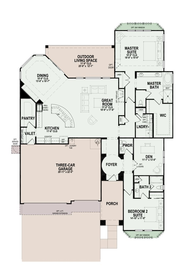 32 best Floorplans images on Pinterest | Arquitetura, Floor plans ...