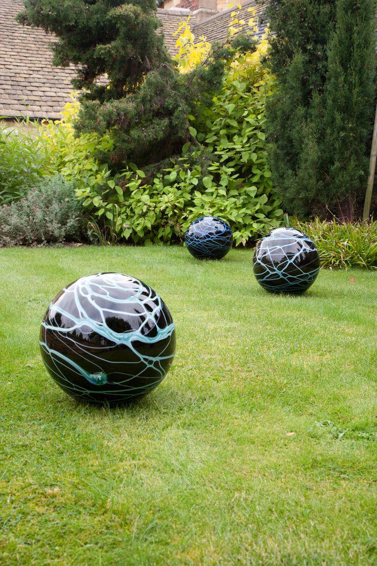 Lightening Spheres by Loco Glass www.locoglass.co.uk